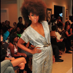 natural hair on the runway