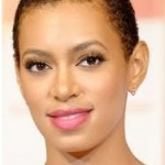 Solange Short Natural Black Hairstyle
