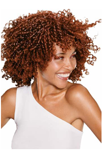 How to Straw Set Natural Hair