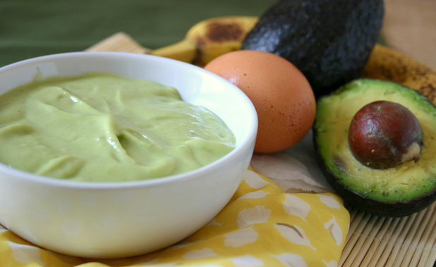 Avocado hair treatment for natural hair