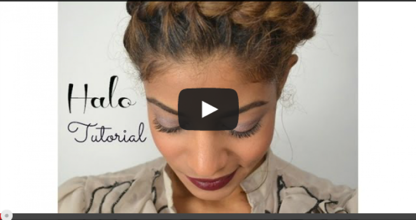 Natural Hair Style Inspired By Fusion of Cultures