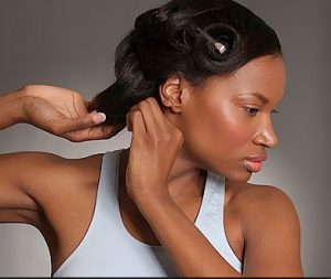 heat styling for natural hair