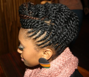 Protective styles for natural hair women