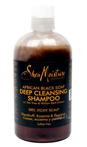 Shea Moisture African Black Soap Deep Cleanin Shampoo