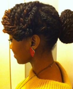 Black women updos