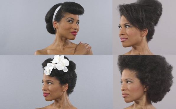 Classic natural hairstyles