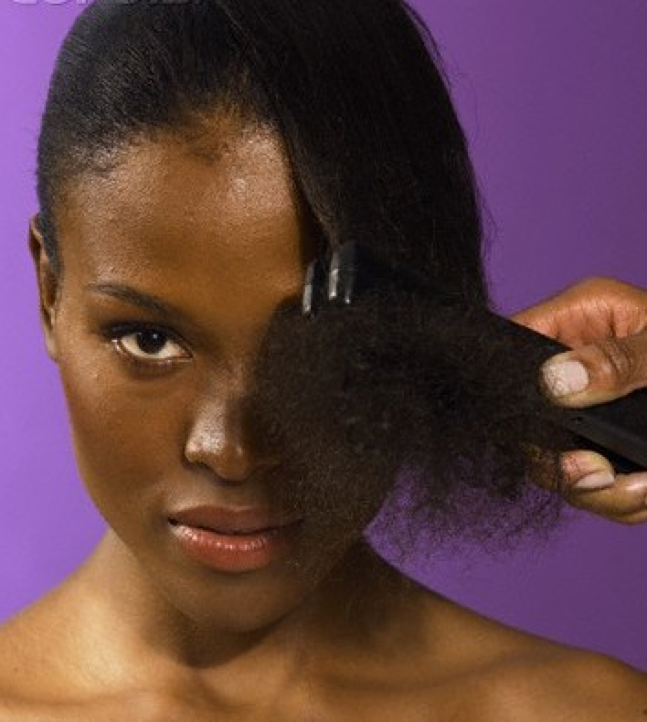 Using Heat on Natural Hair