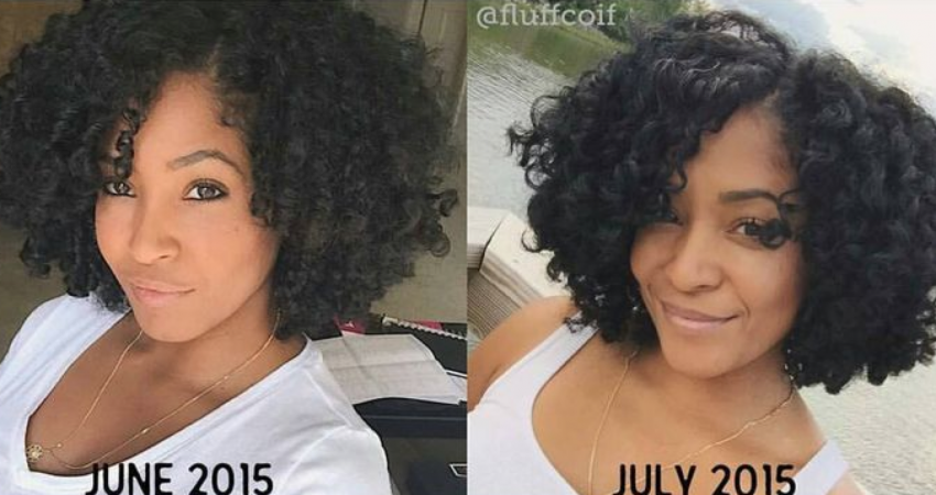22 Inspiring Natural Hair Growth Journeys